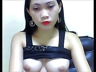 Asian with perfect boobs.