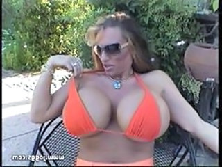 Lisa Lipps Orange Bikini