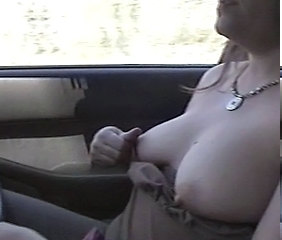 careful tits driving