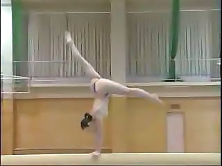 Compressed Nude Gymnast Girl