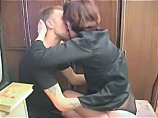 Naughty pupil makes up for missed test unconnected with testing his mature teachers snatch