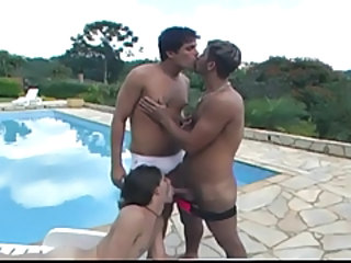 Hot latino gay dudes fucking by get under one's conjoin
