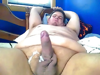 uncivil video of jerking chubby wretch