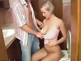 Blonde With Amazing Big Tits Fucked