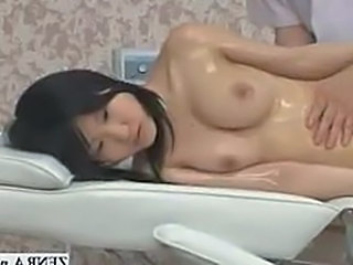 Topless prexy Japan schoolgirl has sensual suborn massage