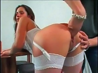 Slutty Kirsty Gaped And Tushy To Mouthed