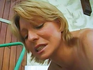Colette Sigma Mature Blonde Fist Anal Roughly Car