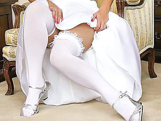 Wedding night porn, fucking the bride