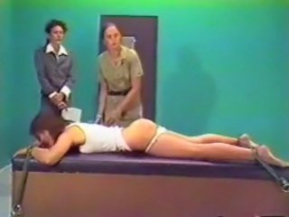 Spank Clip - Female Inmate Black hole Strapping (Re-Edit)