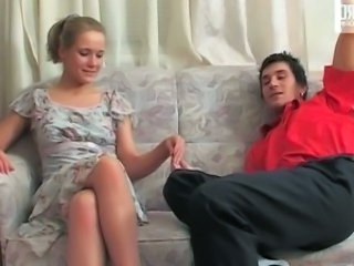Benett and Vitas excellent pantyhose dusting