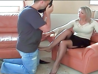 cougar pantyhose quake and legs adore 3