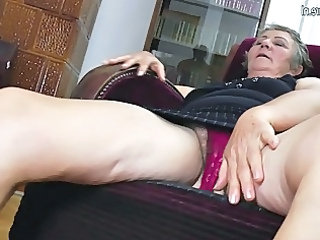 aged grandma gangbangs two more amateur