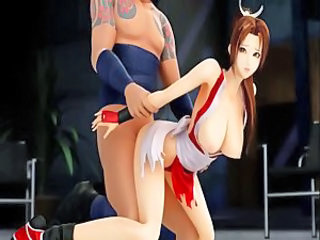 Mai Shiranui - gets fucked (3D hentai)