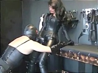 Mistresses use their slut