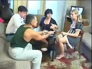 Russian Poker Strip Game Crumbs In An Drunk Orgy