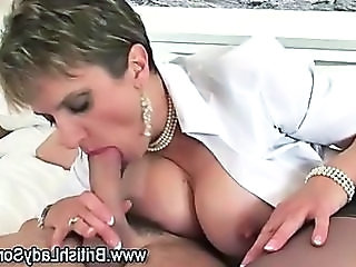 Mature big tit milf blowjob think