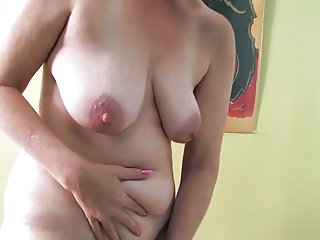 ray leah cougar plastic load of shit masturbation