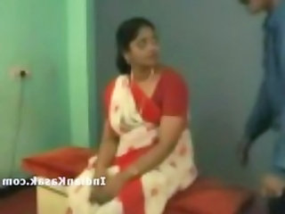 Indian tamil school trainer radha having it away with collegue in c
