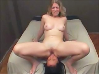 Clips of these different babes going down and rubbing away some pussy