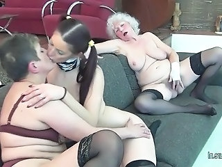 Young maid unspecified fucks   old timers