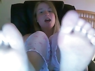 Webcam Girl Beautiful Feet