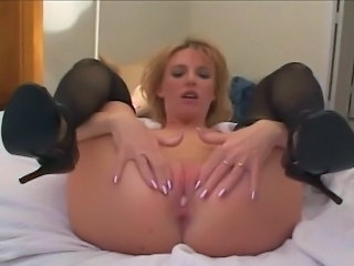 Holly Wetlove does two chubby guys.
