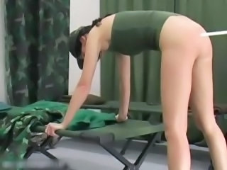 Army Thrashing slapping clip  part1
