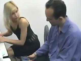 Blonde Brazillian Teen Office Anal