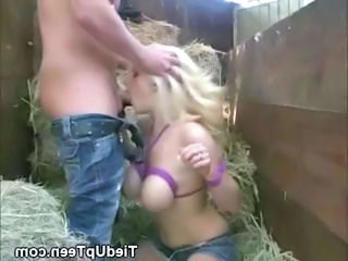 Mart Teen With Eminent Tits Tied Up With an increment of Face Fucked