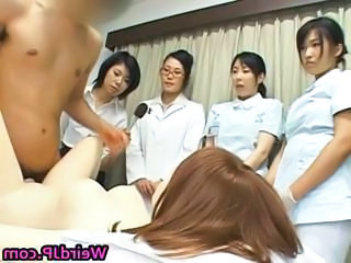 Asian cissified hospital workers part5