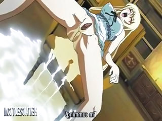 Busty mart hentai gets caught and tied in all directions and made up cum