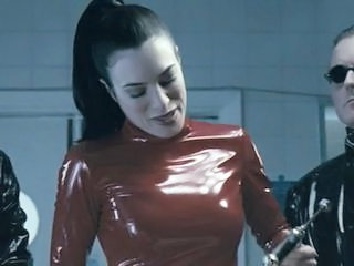 Shunned Latex Woman Torments