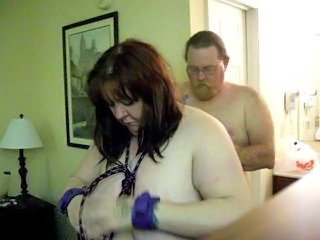 bound with the addition of gagged