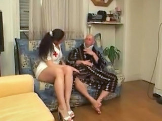 Eloise Fucked In Nurse Perpetual Apart from 2 Guys