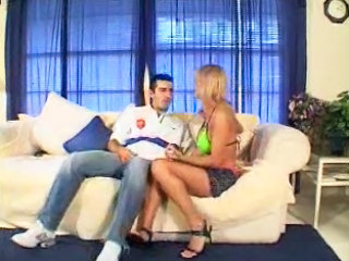 Tow-haired Hooker Sucks Cock - Free Porn Motion picture