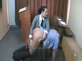 Strict also flesh-peddler Charlotte spanks...