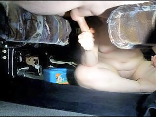 Handjob with an increment of milking my cum...