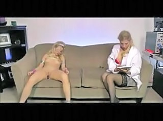 Programming A Fembot To Masturbate _: blondes lesbians ill-use