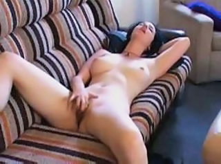 Awesome masturbating