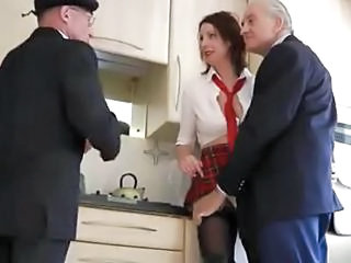 Dirty Old Men Schoolgirl Slut