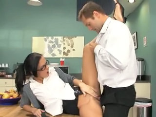 Abyss in my dirty secretaries ass
