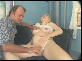 Hot Preggo Krista Gets Will not hear of Pregnant Pussy Fucked