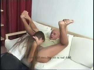 Young girl fucks an old guy free